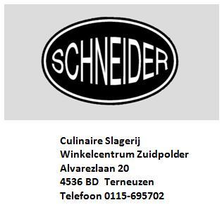 Logo Slagerij Schneider